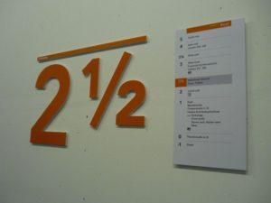 De Singel-Bewegwijzering in gebouwen-Sign Partners