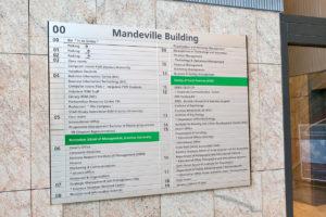 Bewegwijzering in gebouwen-Sign Partners
