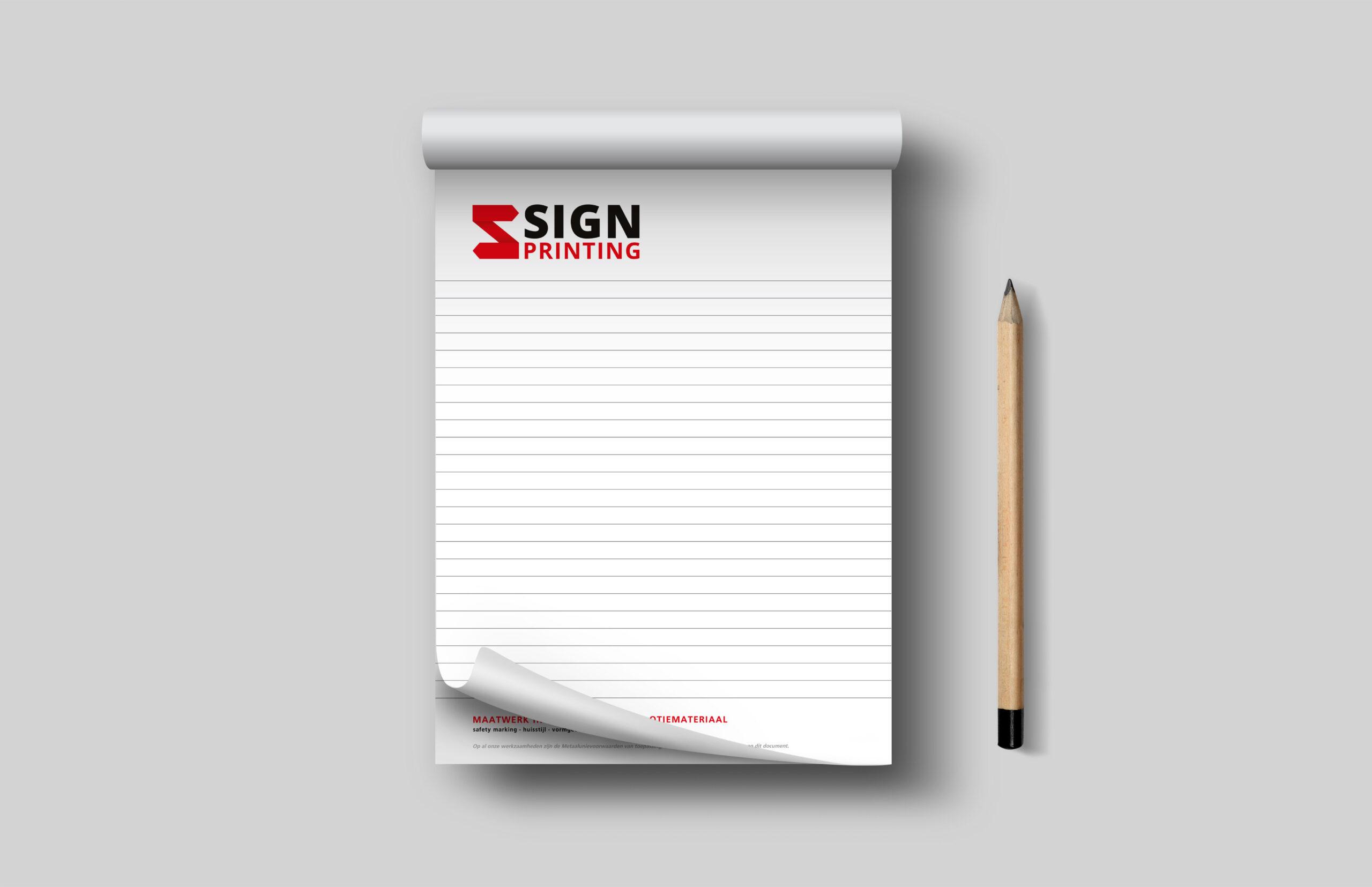 sign-partners notitieblokken